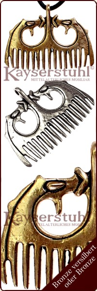 Hiddensee Thor Hammer Wikinger Designer Brosche Aus Vergoldetem 835 Silber Antikschmuck Schmuck & Accessoires